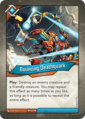 Card image for Bouncing Deathquark