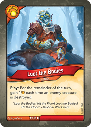 Card image for Loot the Bodies