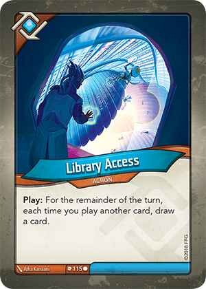 Card image for Library Access