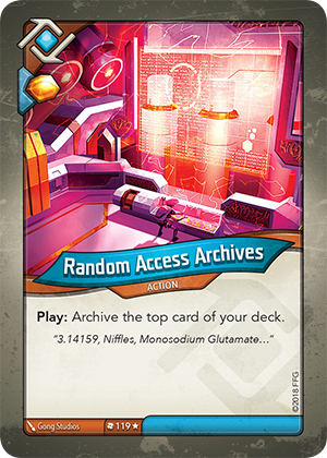 Card image for Random Access Archives