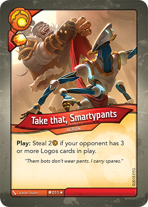 Card image for Take that, Smartypants
