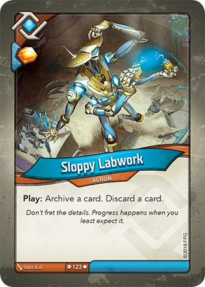 Card image for Sloppy Labwork