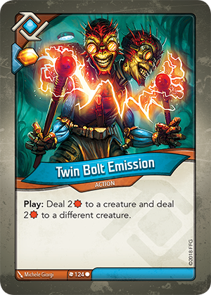 Card image for Twin Bolt Emission