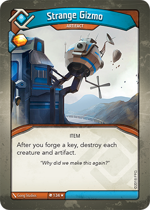 Card image for Strange Gizmo