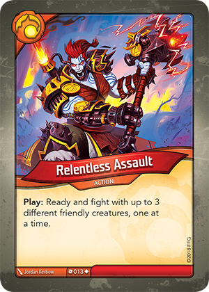 Card image for Relentless Assault
