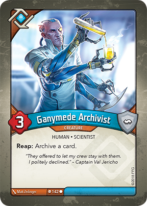 Card image for Ganymede Archivist