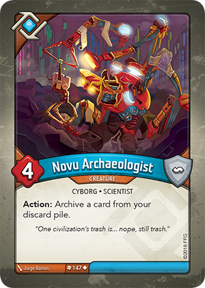 Card image for Novu Archaeologist