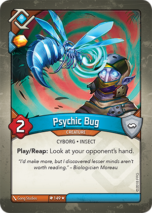 Card image for Psychic Bug