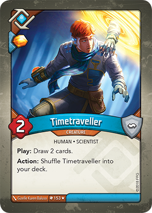 Card image for Timetraveller