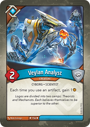 Card image for Veylan Analyst