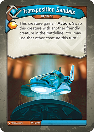 Card image for Transposition Sandals