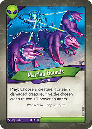 Card image for Martian Hounds