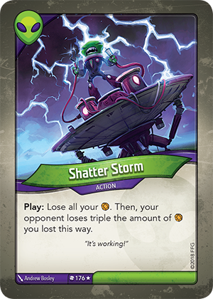 Card image for Shatter Storm