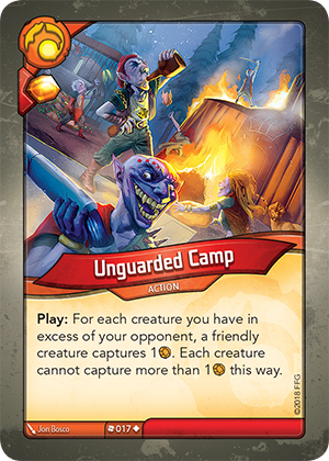 Card image for Unguarded Camp