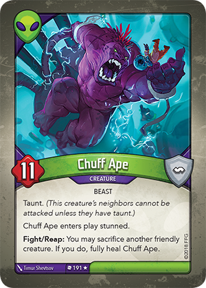 Card image for Chuff Ape