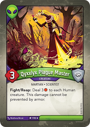 Card image for Qyxxlyx Plague Master