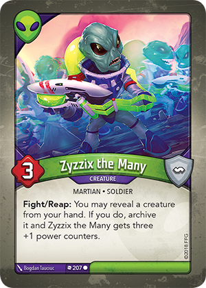 Card image for Zyzzix the Many