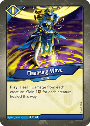 Card image for Cleansing Wave