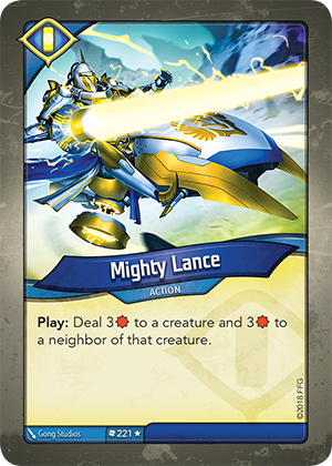 Card image for Mighty Lance