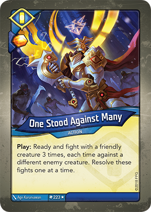 Card image for One Stood Against Many