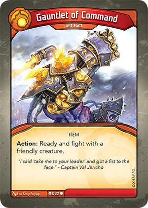 Card image for Gauntlet of Command