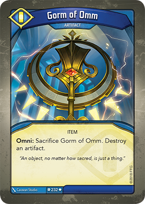 Card image for Gorm of Omm