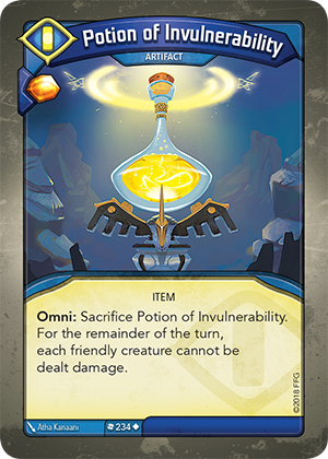 Card image for Potion of Invulnerability