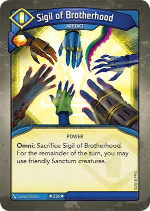 Card image for Sigil of Brotherhood
