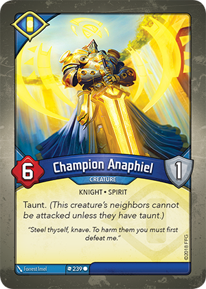 Card image for Champion Anaphiel
