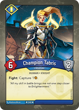 Card image for Champion Tabris