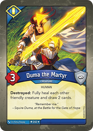 Card image for Duma the Martyr