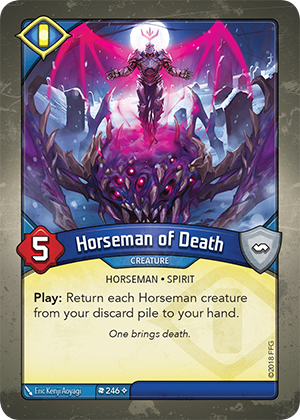 Card image for Horseman of Death