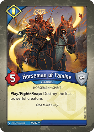 Card image for Horseman of Famine