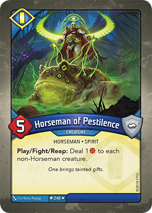 Card image for Horseman of Pestilence