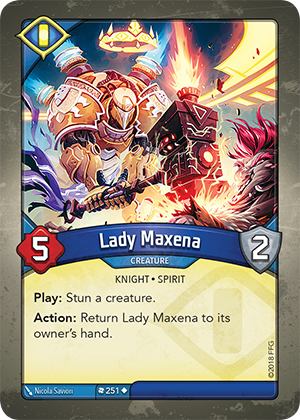 Card image for Lady Maxena