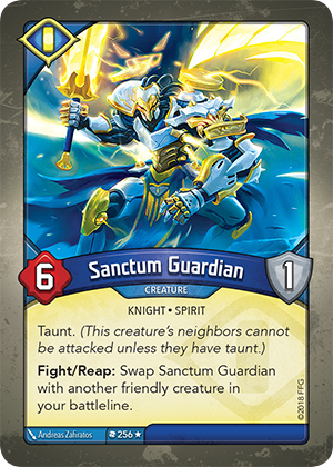Card image for Sanctum Guardian