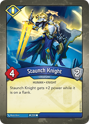 Card image for Staunch Knight