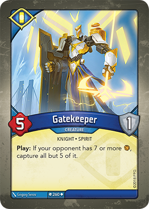 Card image for Gatekeeper