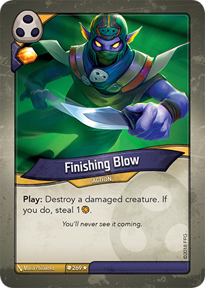 Card image for Finishing Blow