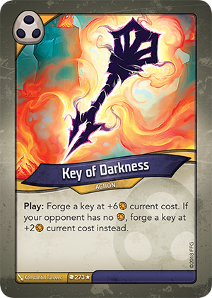 Card image for Key of Darkness