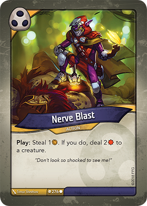Card image for Nerve Blast