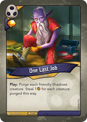 Card image for One Last Job