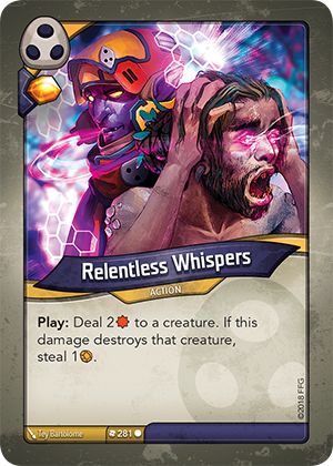 Card image for Relentless Whispers