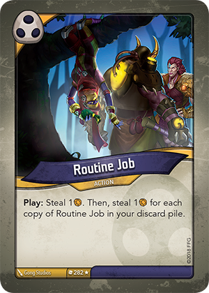 Card image for Routine Job