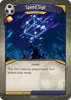 Card image for Speed Sigil