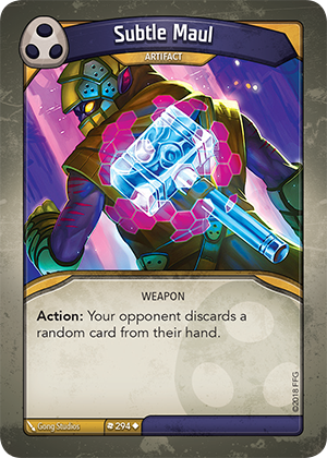 Card image for Subtle Maul
