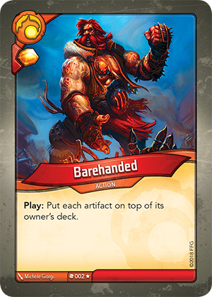 Card image for Barehanded