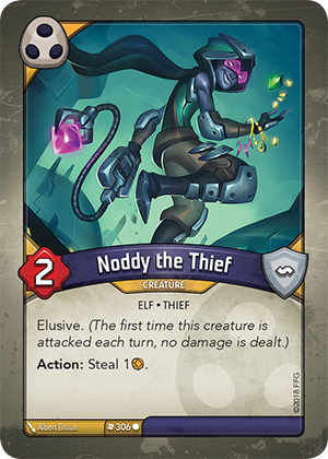 Card image for Noddy the Thief