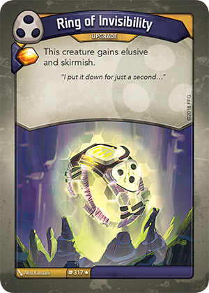 Card image for Ring of Invisibility