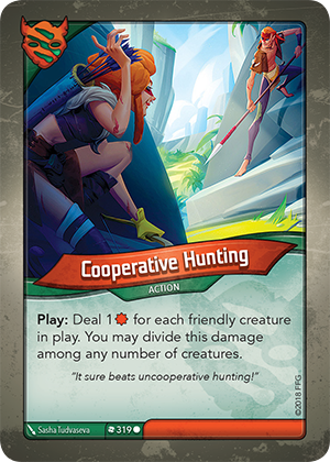 Card image for Cooperative Hunting